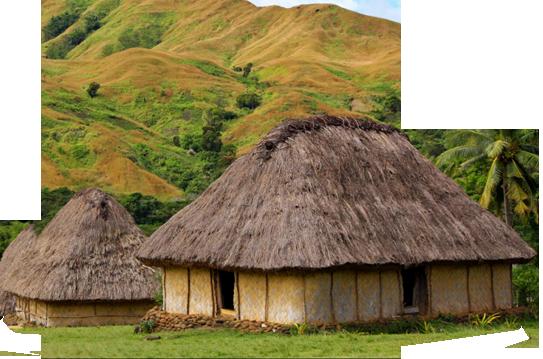 Fiji huts